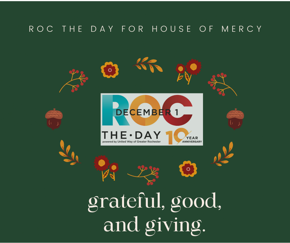 Roc the Day 2020 @ House of Mercy Rochester